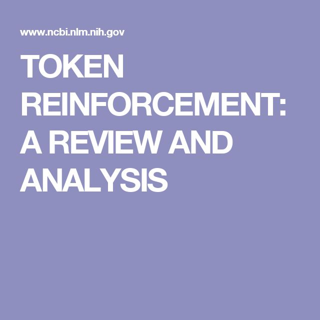 TOKEN REINFORCEMENT: A REVIEW AND ANALYSIS