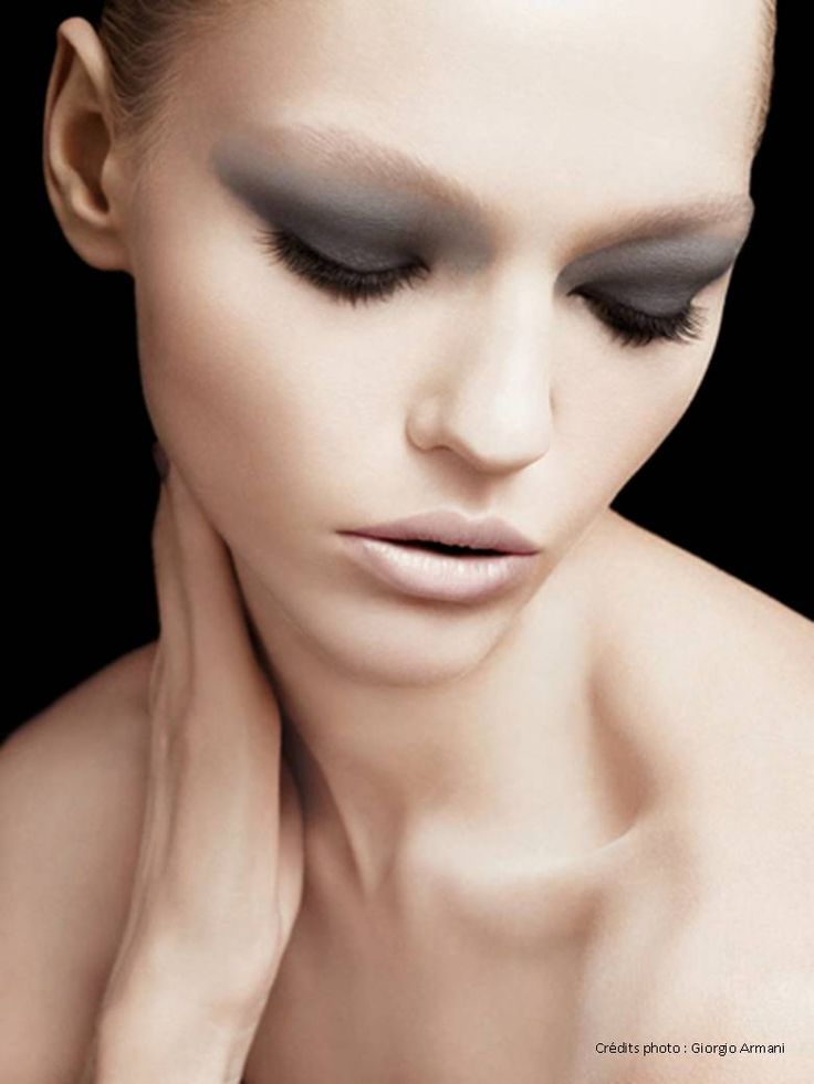 Sasha Pivovarova for Giorgio Armani beauty _