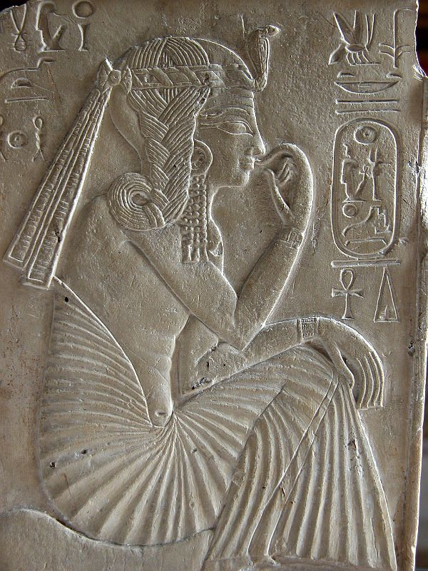Paris, Louvre Antiquities Egypt 1290-1224 BC - Ramses II as a Child, Relief
