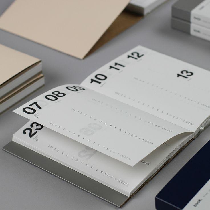 Calendar Notebook Design : Best graphic design calendar ideas on pinterest