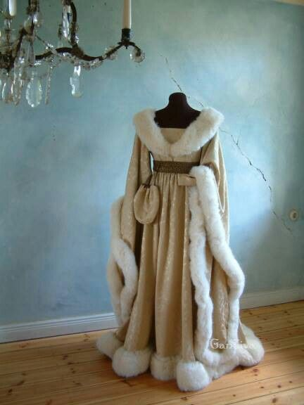 For Sanza, for her escape to Winterfell with all that Lannister money....yup i would use this in the winter