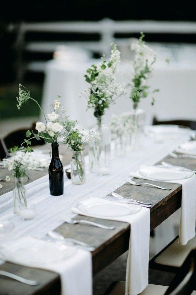 Modern Simple Wedding Table Settings With Images Wedding Table