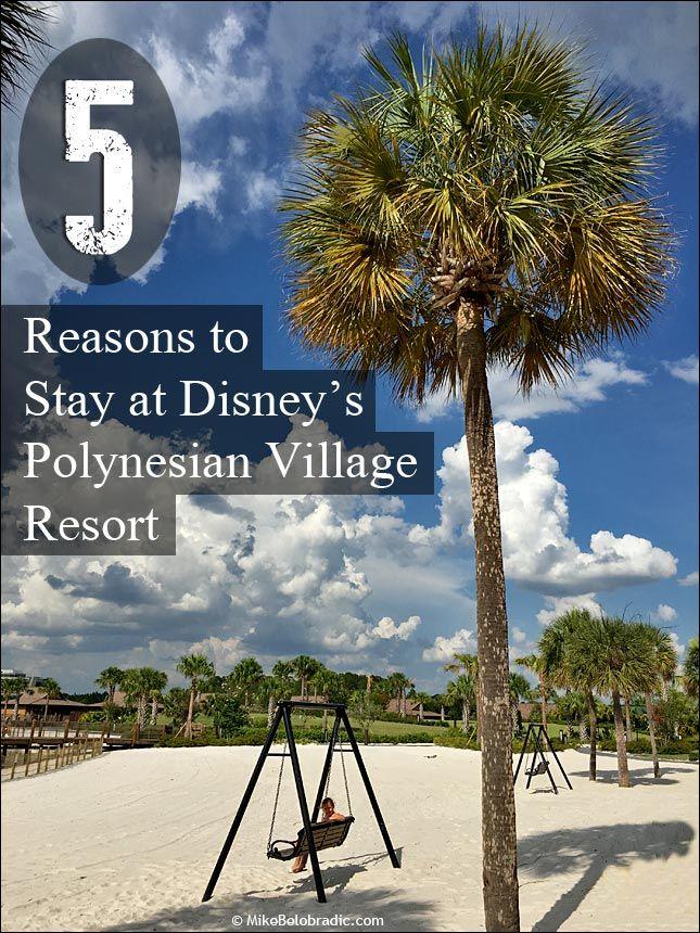 Five reasons to stay at Disney's Polynesian Village Resort #WaltDisneyWorld #Polynesian #DeluxeDisney http://mikebelobradic.com/five-reasons-stay-disneys-polynesian-villageresort/