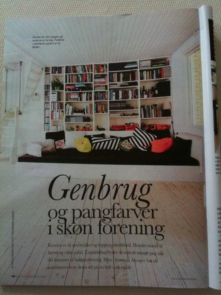 "Danish Magazine ""Alt for Damerne"" visiting the very nice home of Kirstine Blauenfeldt-Øverli."