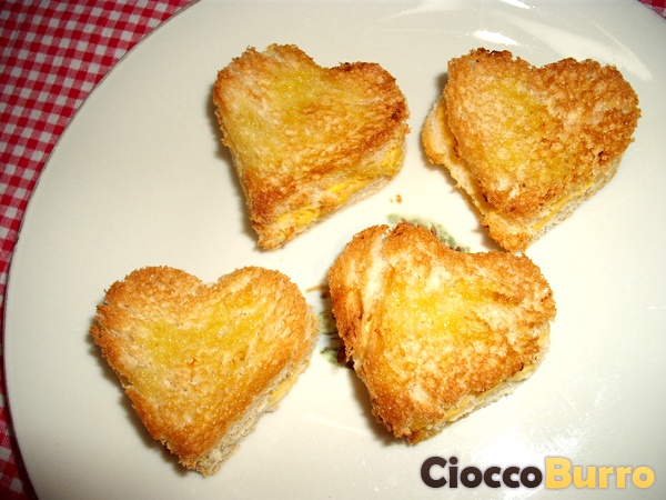 Crostini dell'amore - Love's crostini
