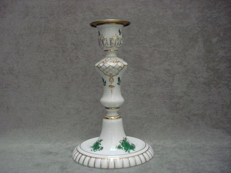 bougeoir porcelaine décor Impératrice Marie Thérèse Autriche Augarten Vienne     eBay