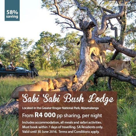 Here's our deal of the week. Call us on 0860 119 119 to book your #mtbedsLuxuryTravel getaway!