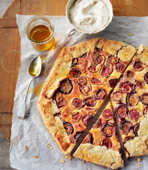 ... tart. Recipe: Fresh Fig Crostata with Ricotta and Honey