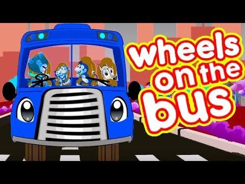(5) Wheels On The Bus Song | Rhymes For Kids | Kids Learning Songs | Wheels On The Bus | Cartoon Rhymes - YouTube