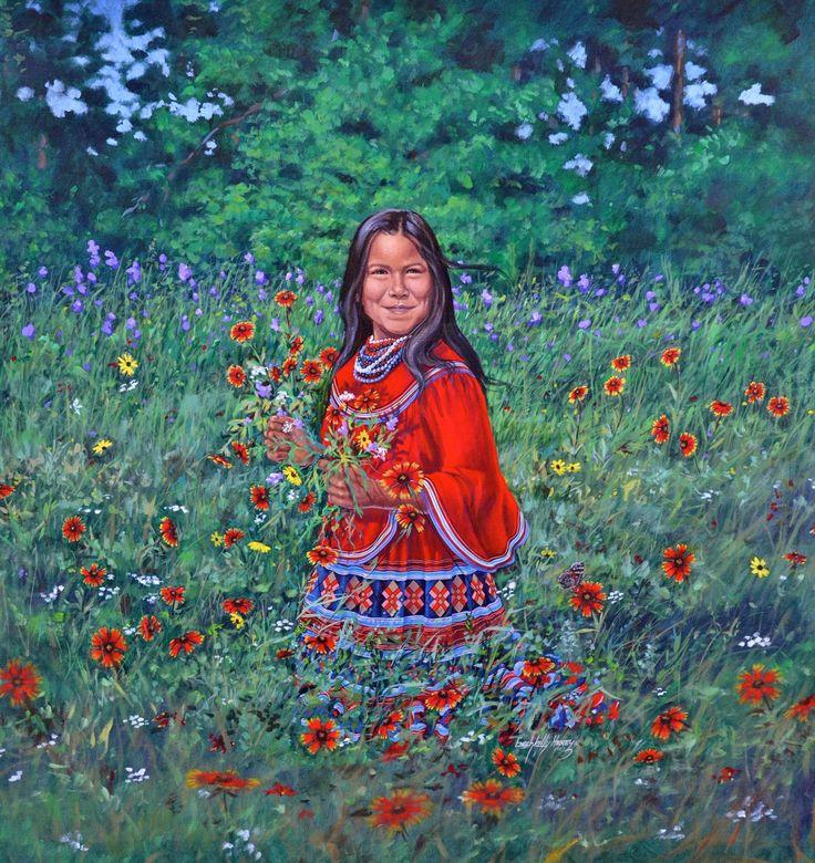 """""""Kelli Brooke"""" by Enoch Kelly Haney"""