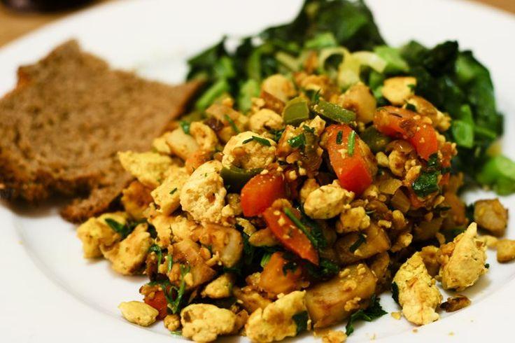 How to scramble tofu