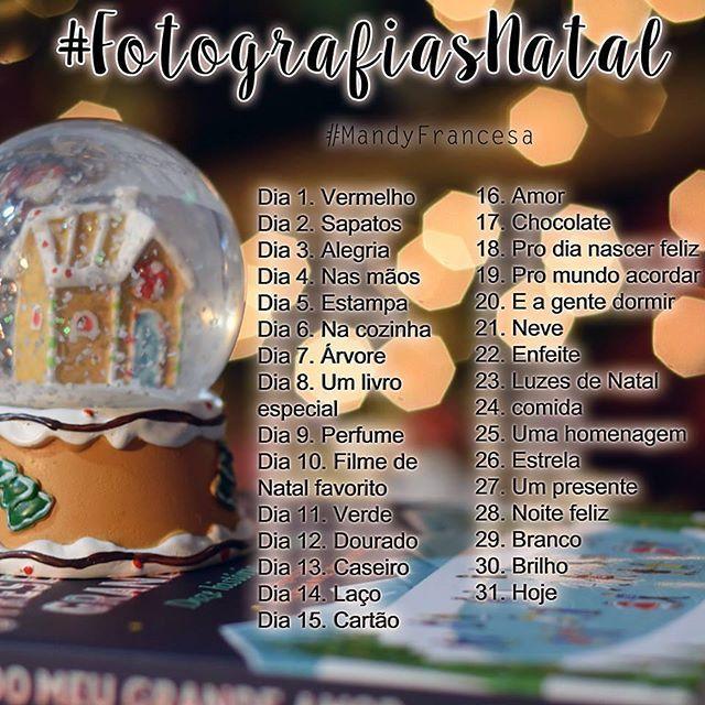 E  Dezembro chegou e com ele o meu primeiro desafio fotográfico com o tema de Natal. #31fotos #fotografiasnatal  #Natal  #merrychristmas  #feliznatal #comecahoje #blogger #blogcamilafonseca #brasil #foto