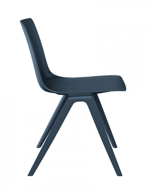 A-Chair, very nice balance between hard lines and curves.  designed by Jehs+laub - derived from the letter 'A'