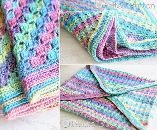Wonderful Diy Crochet Spring Into Summer Blanket Knit
