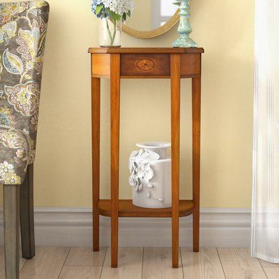 Darby Home Co Corinne Console Table Color: Olive A…