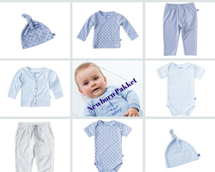 Newborn pakket Boys / Baby capsule wardrobe. Voor deze wardrobe hebben we ons gefocust op de newborn baby's. Met een slechts een aantal items heb je weer geweldige oufits! De capsule is ook erg geschikt voor in jouw vluchtkoffer/ziekenhuistas.