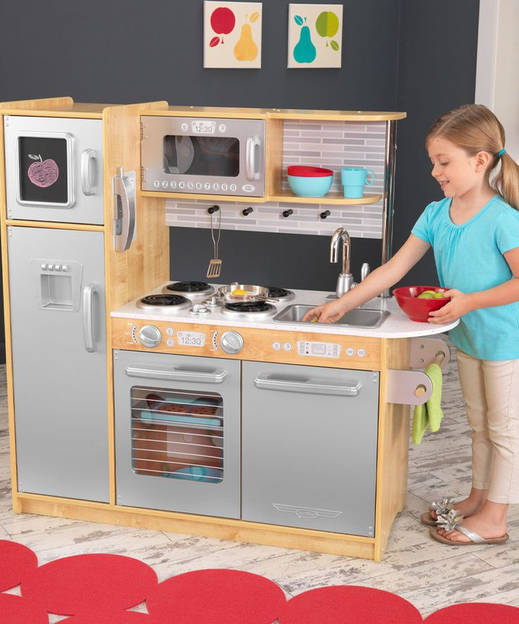 Look what I found on #zulily! KidKraft Natural Uptown Kitchen Set by KidKraft #zulilyfinds
