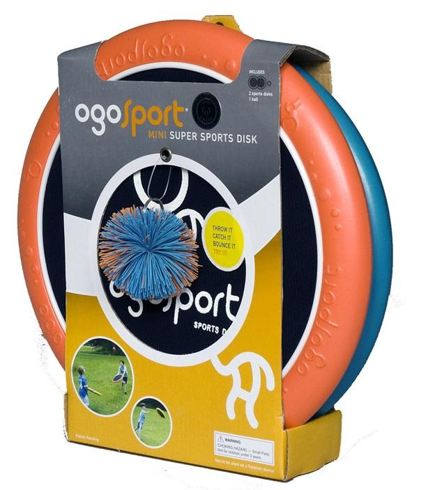 OgoSport Mini Super Sports Disk.  You can throw it, catch it and bounce it! Great outdoor fun :) #ogoSport #fun #outdoors #kidstoys #kids #toys