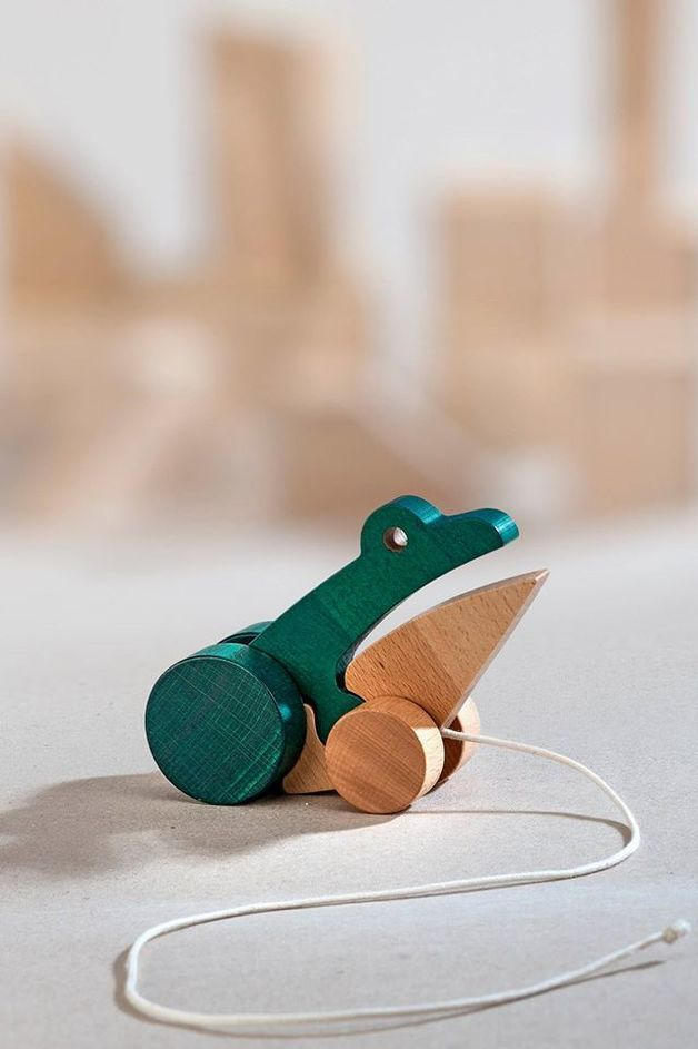 Froggie talkie. Clattering companion for all your walking adventures.  WellDone® Classic is an iconic series of Polish design classics that are making a comeback to our markets. Produced by Be...