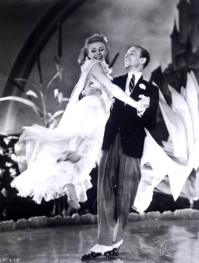 Ginger Rogers did everything Fred Astaire did, only backwards and in high heels!