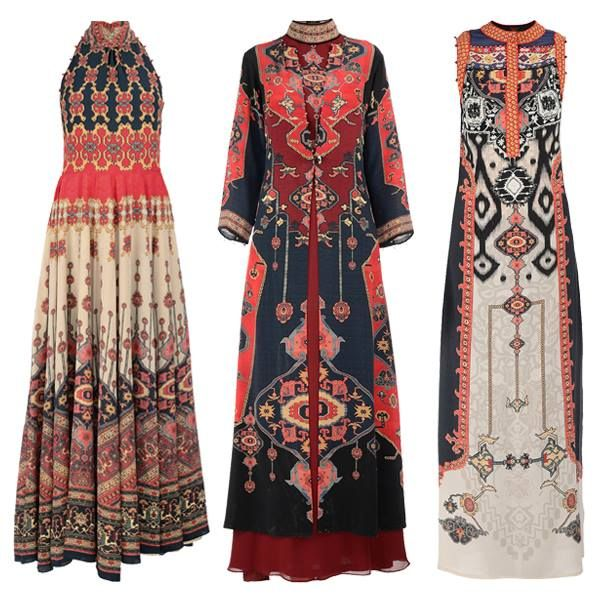 New styles added to flamboyant Moroccan & Persian inspired prints by Rajdeep Ranawat.