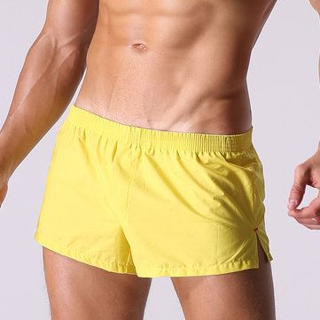 Arrow Pants Casual Sexy Home Low Waist Cotton Inside Pouch Breathable Boxers for Men