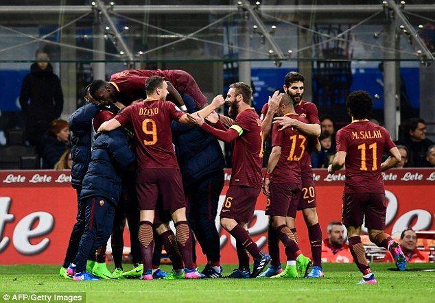 AS Roma berhasil untuk mencuri tiga poin dari kandang Inter Milan dalam pertemuan Serie A pekan ke-26, dengan skor 1-3.