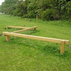 DIY Balance Beam                                                                                                                                                                                 More