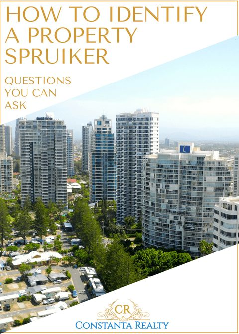 Gold Coast, Australia on photo.  Article: How to identify​ property spruiker in Australia