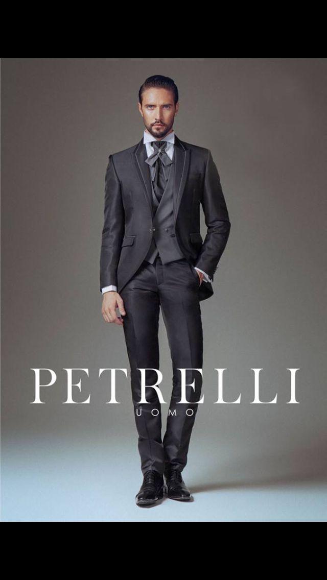 Collezione 2015 testimonial Alex Belli Petrelli Uomo Alta Cerimonia