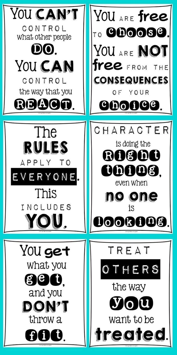 Classroom Posters For Every Teacher (Light Bulbs and Laughter)