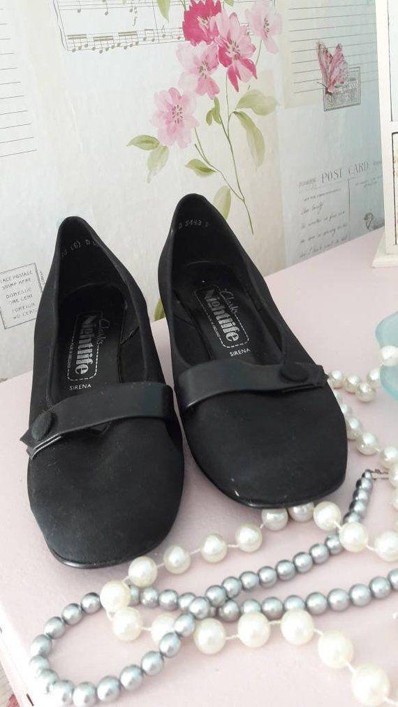 shoes black ladies shoes size