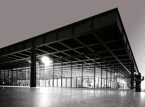 Neue Nationalgalerie. Architect: Ludwig Mies van der Rohe (1968). Style: International. Potsdamer Straße 50  10785 Berlin, Germany