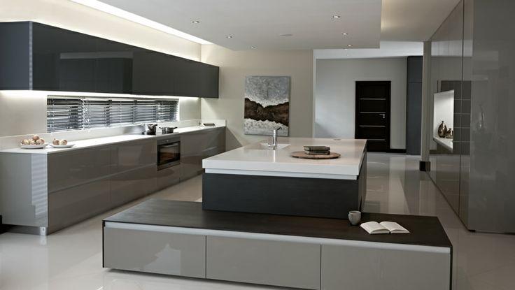A minimalist and modern kitchen by blu_line | president dam estate #modernkitchen #minimalistkitchen