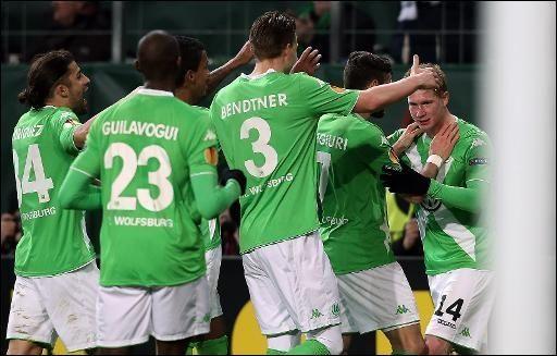 Europa League: Wolfsburg bezwingt Inter 3:1 - Yahoo Nachrichten Deutschland