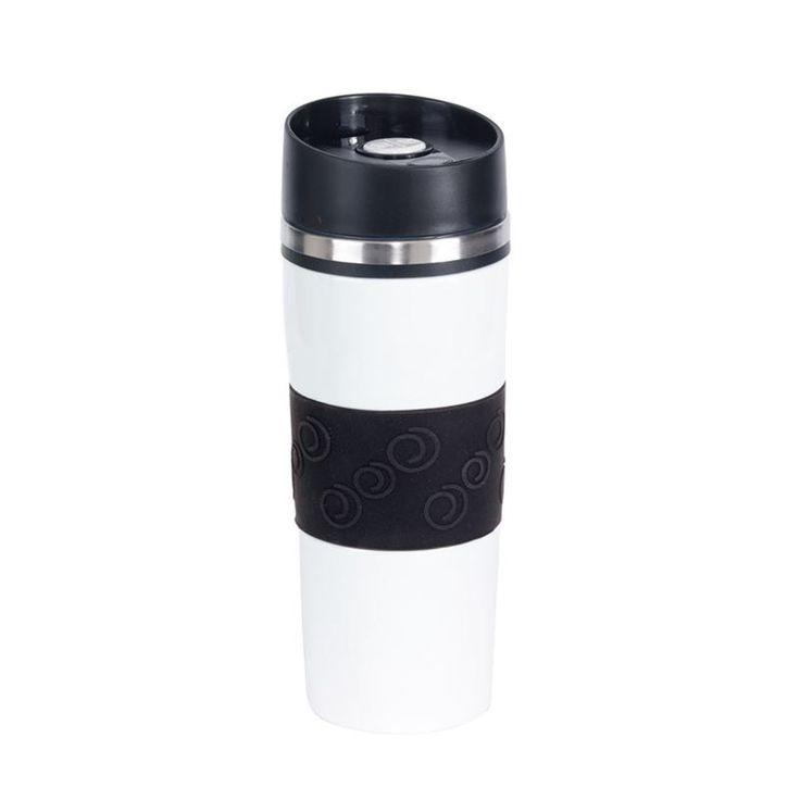 Mug acier personnalisé type thermos