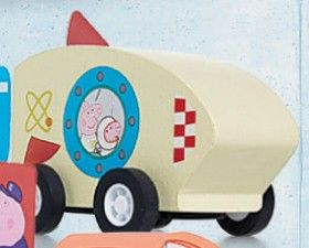 Peppa Pig Pull Back Vehicle