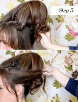 bumpit mohawk, disguised as a beehive tutorial!