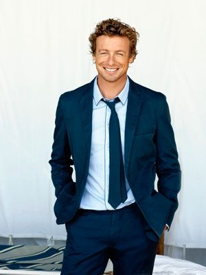 Simon Baker, the man with the happiest smile