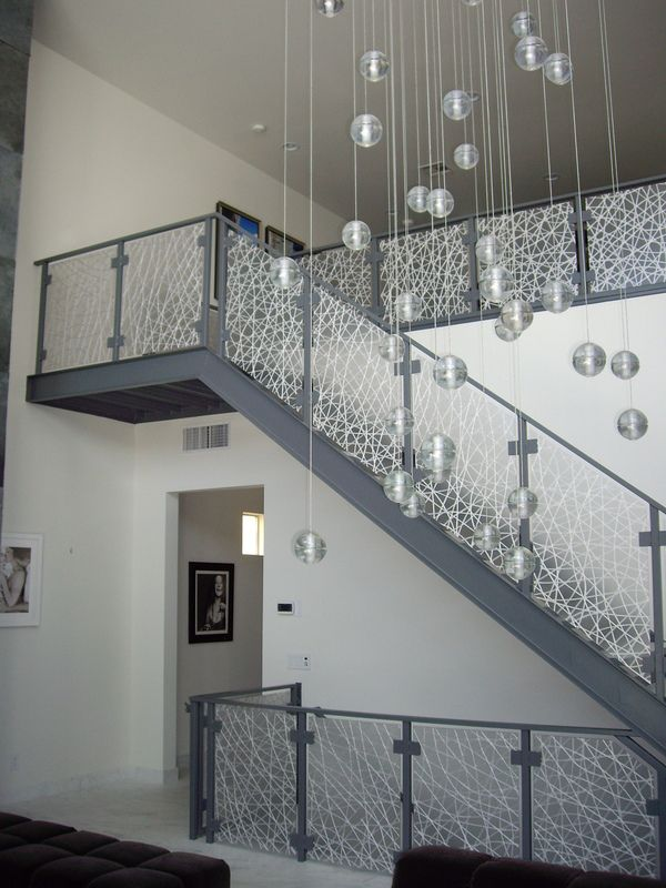 3 Form Eco Resin Stair Rail Panels By California Closets Of Las Vegas ,