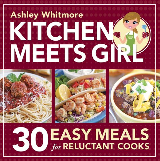 You guys.  I cannot believe I'm even typing this right now.  My cookbook: Kitchen Meets Girl: 30 Easy Meals for Reluctant Cooks – IS ON SALE NOW!! My cookbook is available for pre-order right now, with a release date of October 13.  That's just next week!  Holy moly, I can't believe in just a few days some of you …