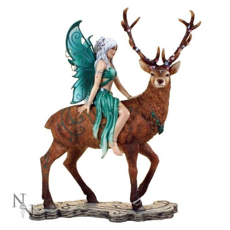 Ayala Fairy & Deer Statue