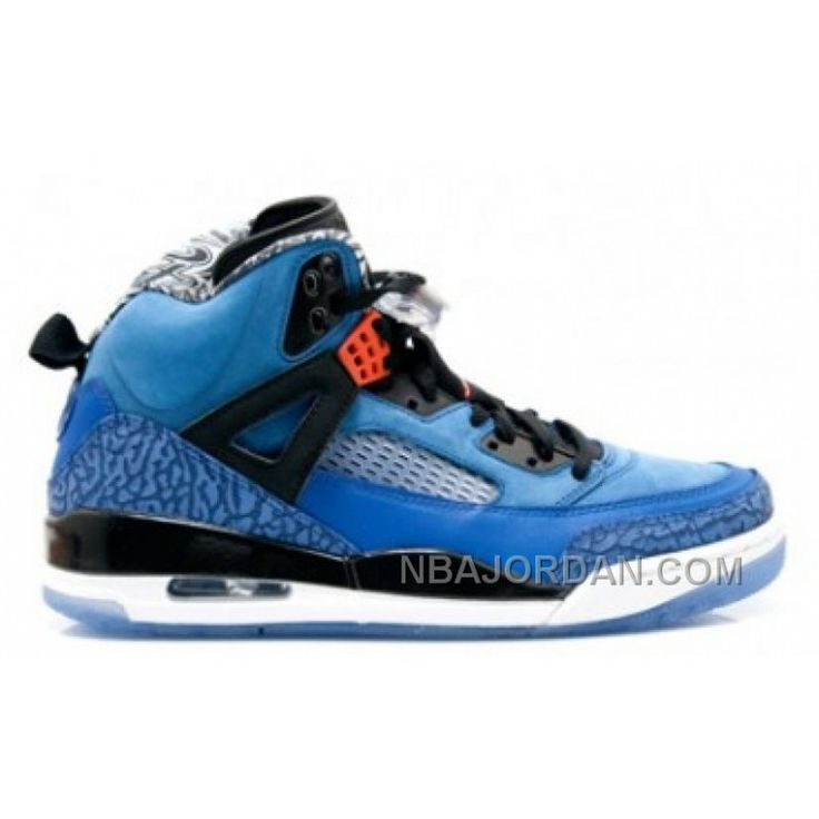 315371-405 Air Jordan Spikize Knicks Royal Blue Black White A23016 Authentic, Price: $175.00 - 2017 New Jordan Shoes, Nike Jordan Shoes - NBAJORDAN.com