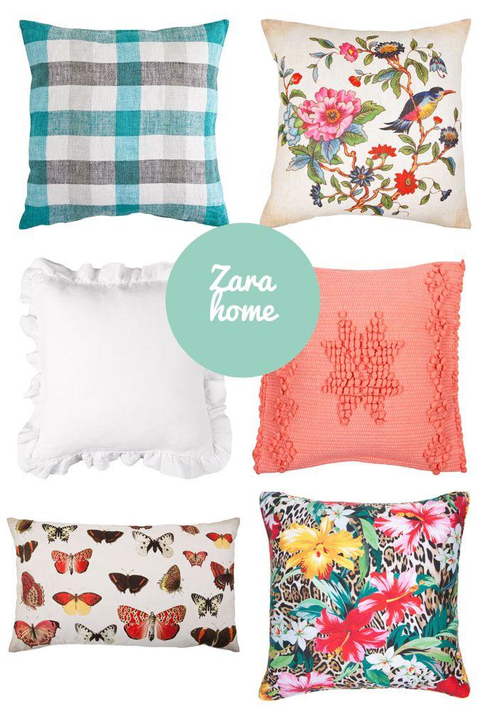 Cojines bonitistas Zara Home