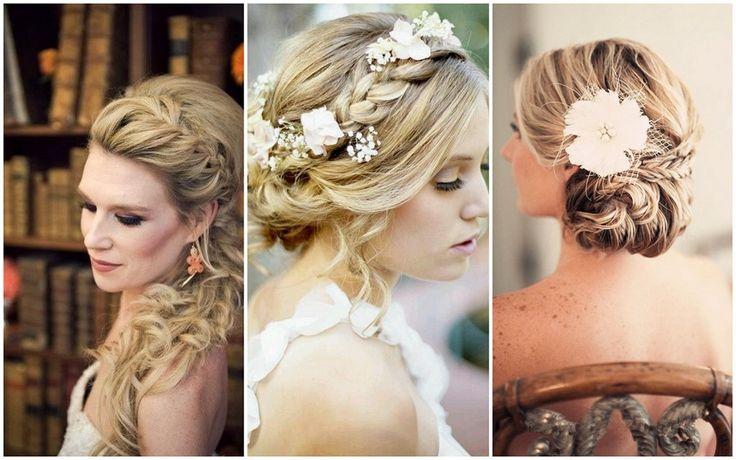Brautfrisuren Trends 2014 - Romantisch