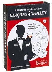 keladeco.com - coffret 9 #glacons à whisky, idée cadeau #apero #glaçons céramique - LA CHAISE LONGUE