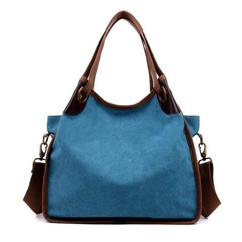 [EBay] Kvky Vintage Canvas Shoulder Bag Bolsa Feminina Canvas Crossbody Bags Grey Canvas Bag Women'S Handbags Crossbody Bags
