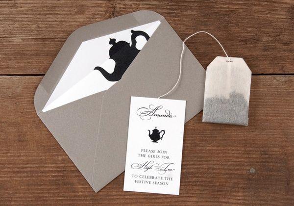 Art High Tea Invitations other-event-invitations-stationery