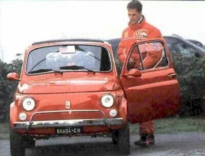 Fiat 500 - Michael Schumacher