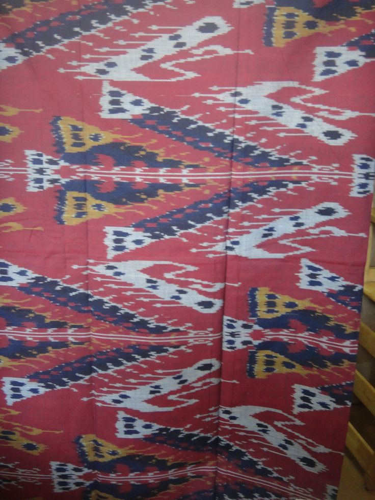 Ikat Fabric Designs
